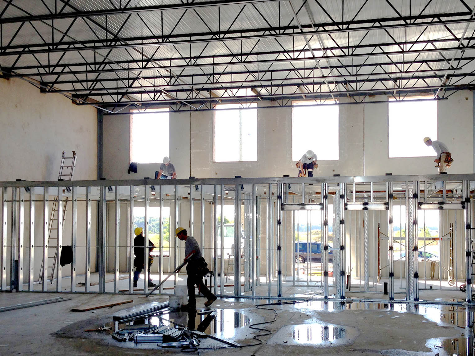 Lightweight and Easy-To-Install Mezzanines Using Cold-Formed Steel Framing