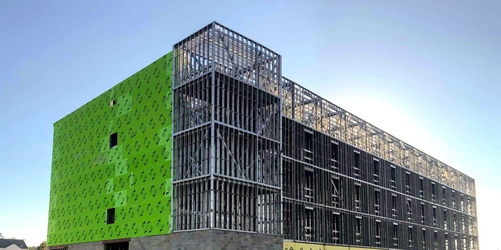 The Benefits of Combining ICF Construction with Cold-Formed Steel