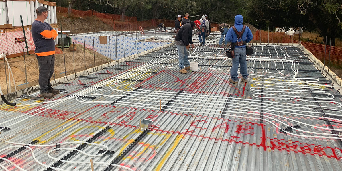 A Match Made in Oregon - Insulated Concrete Forms and a Concrete Flooring System - iSPAN Systems 2